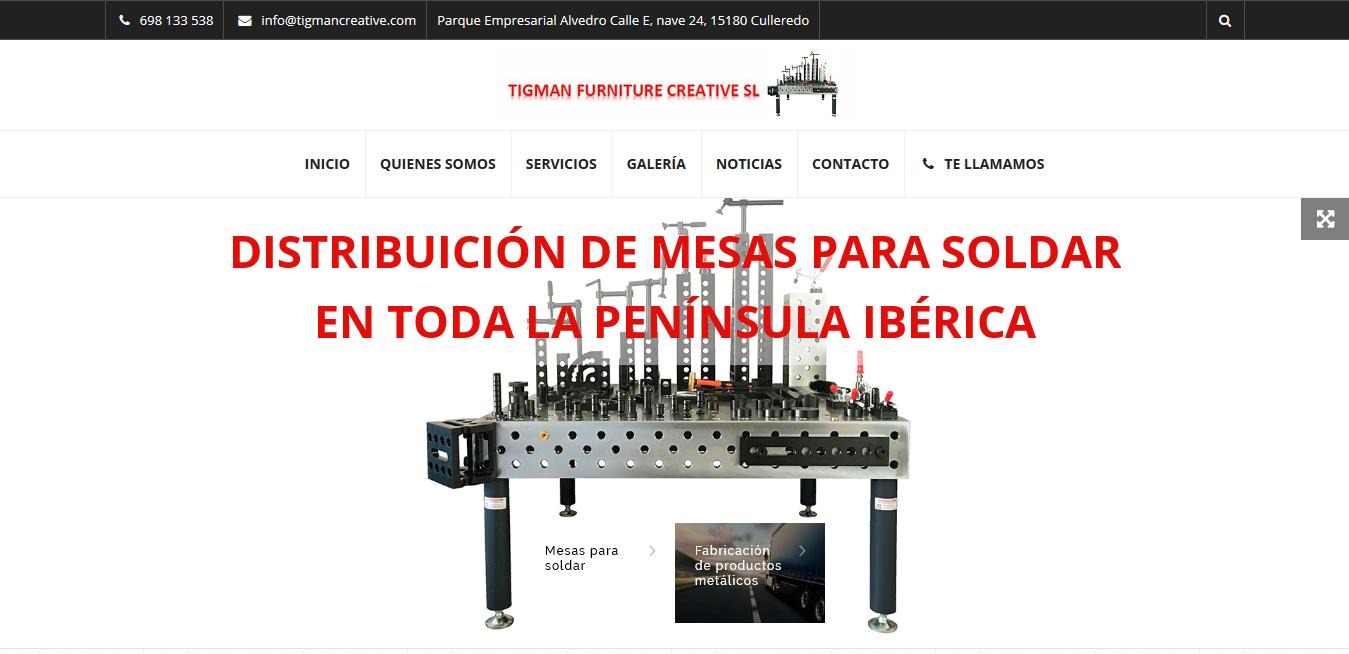 Presentamos nuestra web